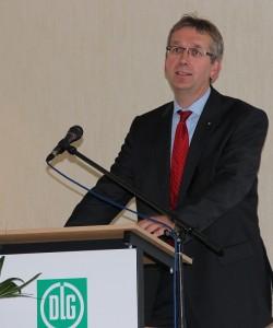DLG Geschäftsführer Dr. Reinhard Grandke