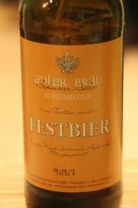 Festbier Schwarzer Adler Schlüsselfeld 001