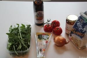Vorbereitung: Tomaten-Rucola-Risotto mit Weizenbier