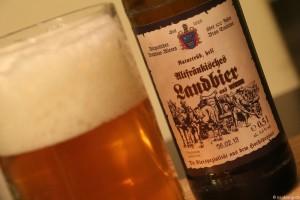 Altfraenkisches Landbier Brauhaus Wiesen  004