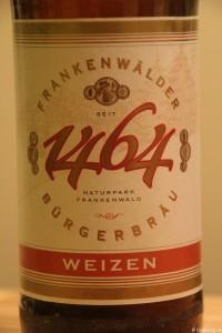 Frankenwälder Bürgerbräu Weizen 002