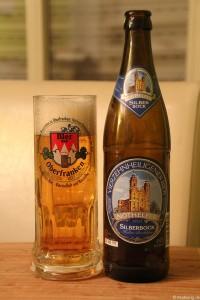 Vierzehnheiligener Bier - Silberbock der Brauerei Trunk  002