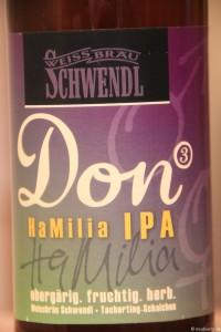 Don HaMilia IPA Weissbräu Schwendl 003