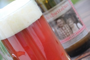 Hochzeitsbier Rotbier Zum Löwenbräu 010