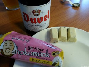Duvel und Shokomonk Bananensplit