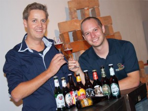 Peter Reimann (Kalea) und Markus Wurzer (myBier.at)
