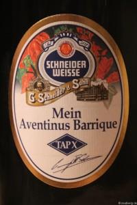 Schneider Weisse TAPX Mein Aventinus Barrique 001